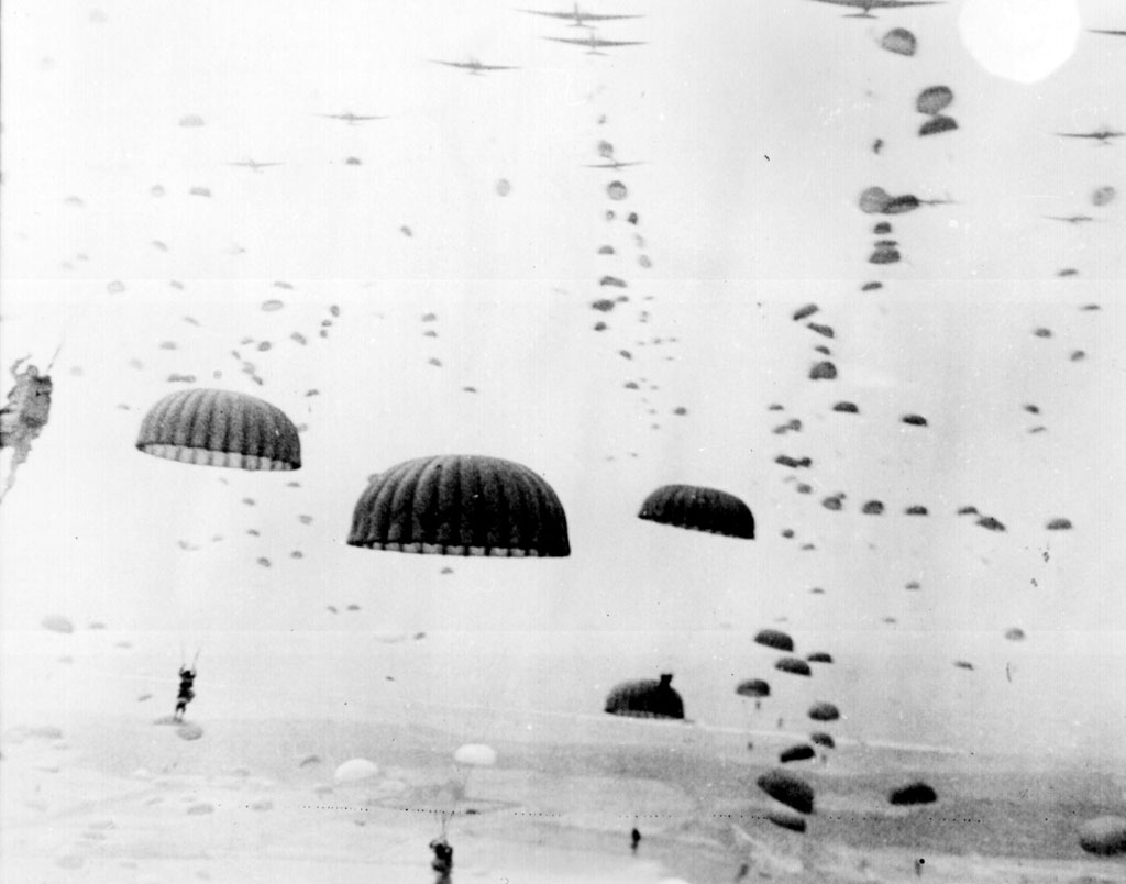 More than twenty thousand parachutists and glider troops descended behind German lines on September 17, 1944, in the biggest, boldest airborne operation of the war.