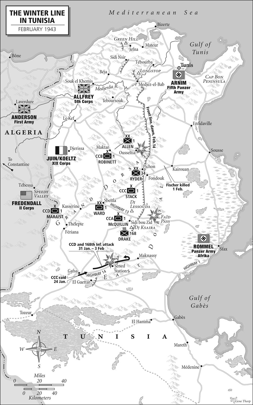 Images Of Maps From An Army At Dawn The Liberation Trilogy By - Map of tunisia world