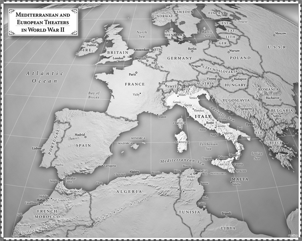 Images of maps from the day of battle the liberation trilogy by mediterranean and european theaters in world war ii gumiabroncs Choice Image