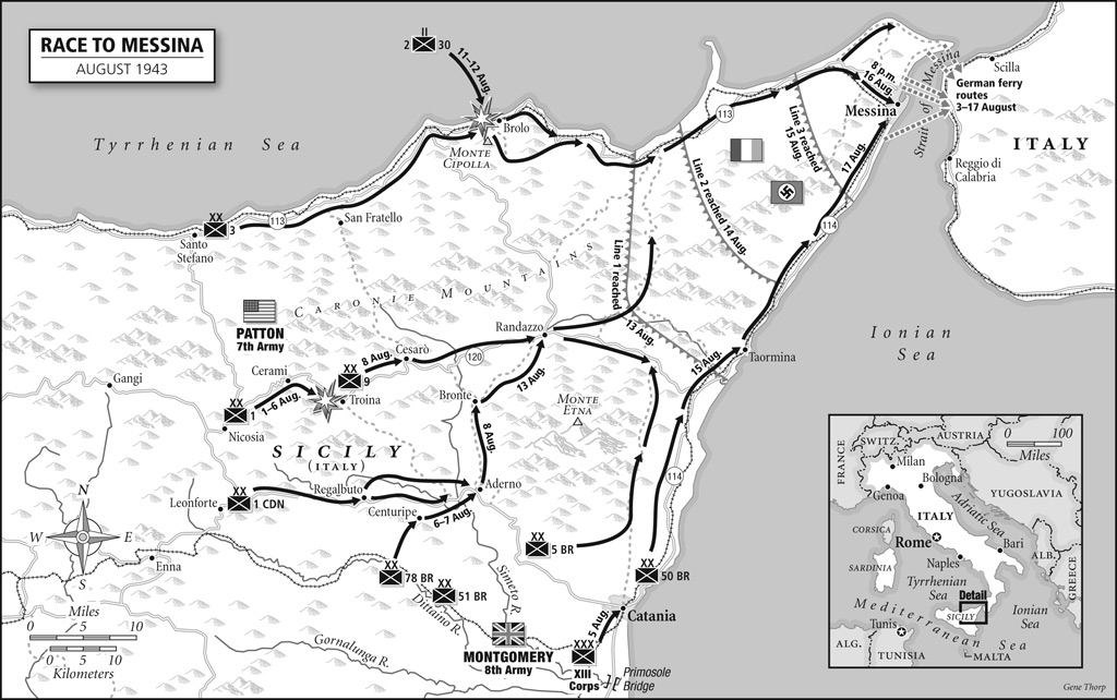 Images of Maps From The Day of Battle The Liberation Trilogy by