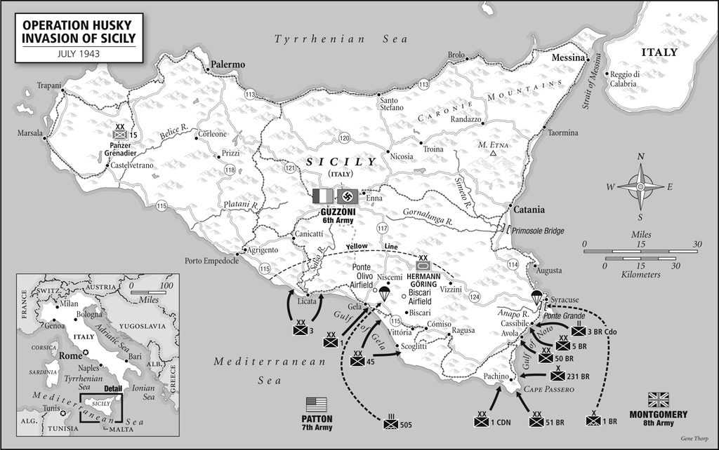 Allied invasion of Sicily